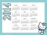 Hello Kitty Calendar 2014