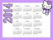 2014 Hello Kitty Calendar