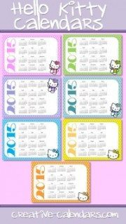 Hello Kitty Calendars