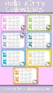 Hello Kitty Calendars