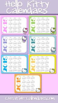 Yealy calendars