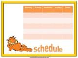 Garfield Weekly Calendar