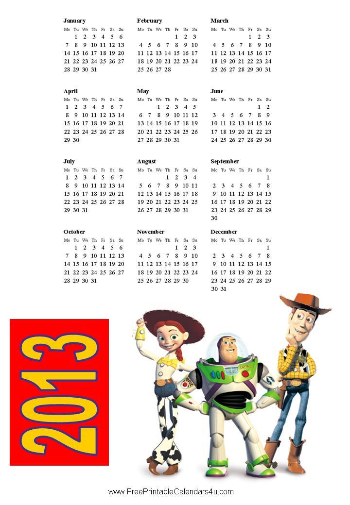 Cute June Calendar 2013 Printable Cute June 2013 Calendar