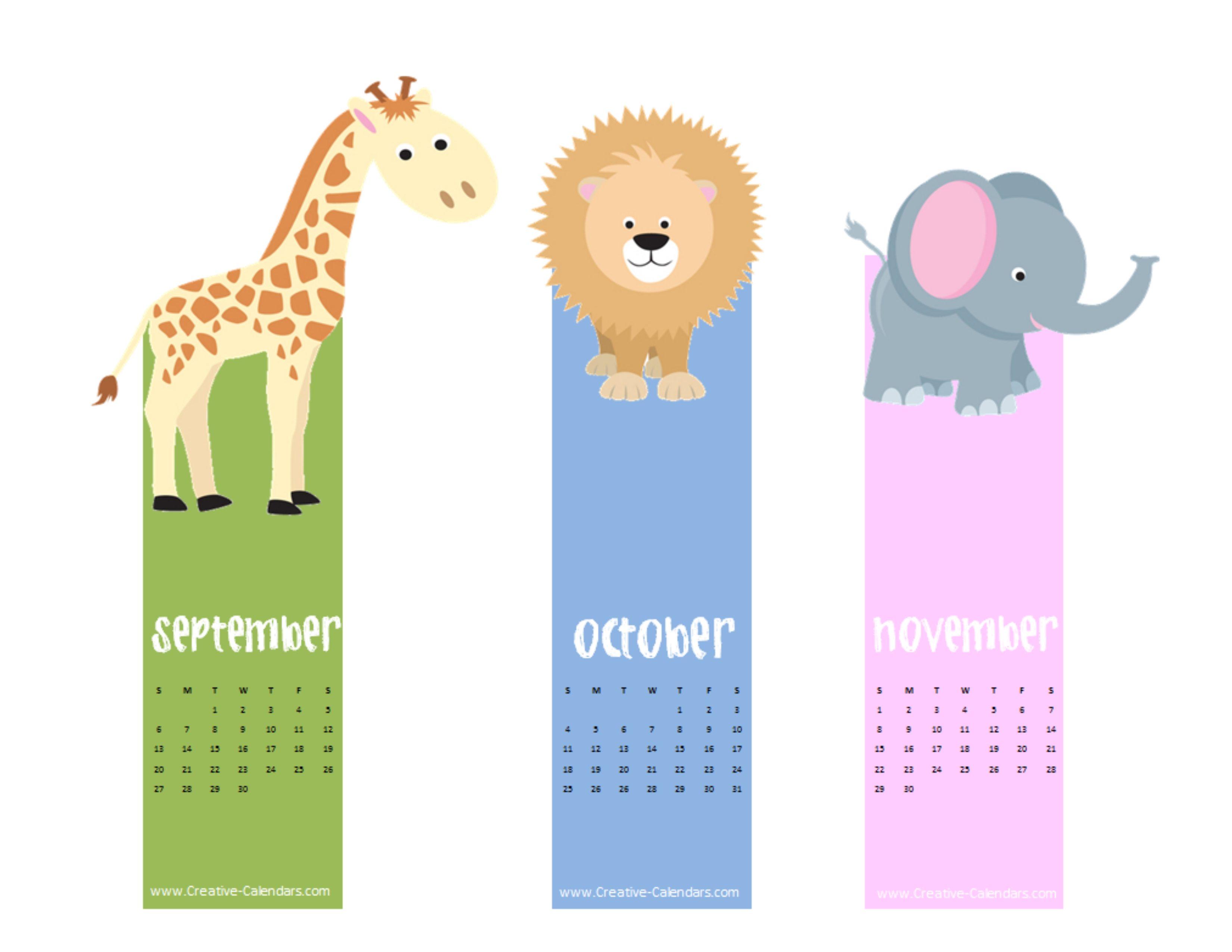 Calendar Bookmark : Bookmark calendar search results new