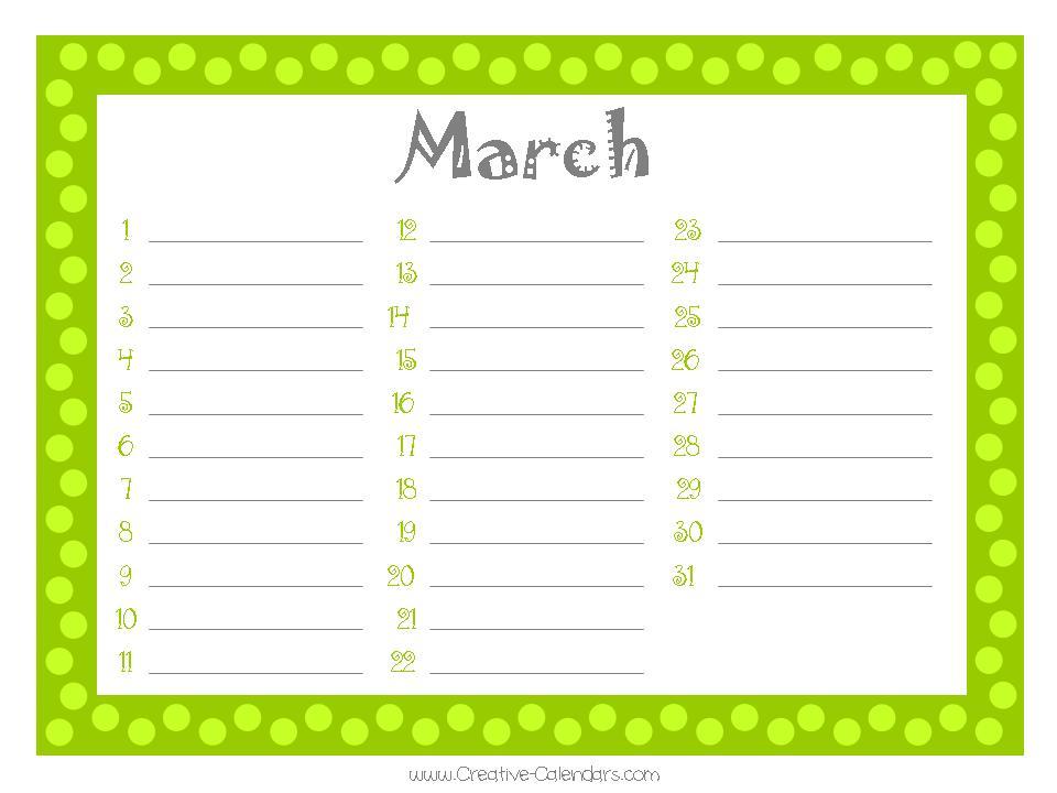 Free Birthday Calendar Template Excel  TvsputnikTk