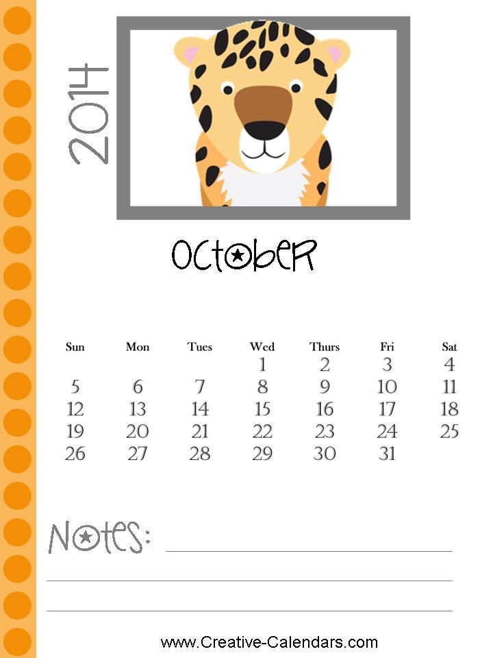 ... October November And December 2014   New Calendar Template Site