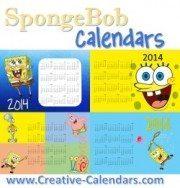Spongebob calendars