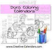 Dora Calendars