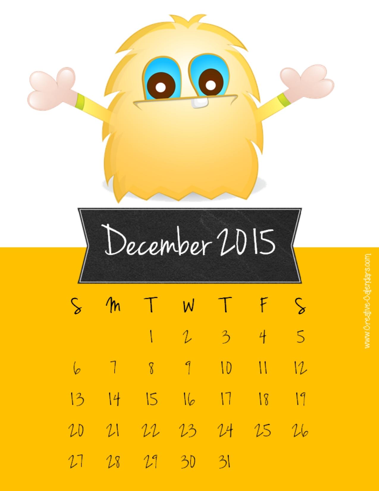 Christmas 2015 Calander Countdown Printable | Calendar Template 2016