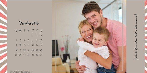 Free photo calendar 2016