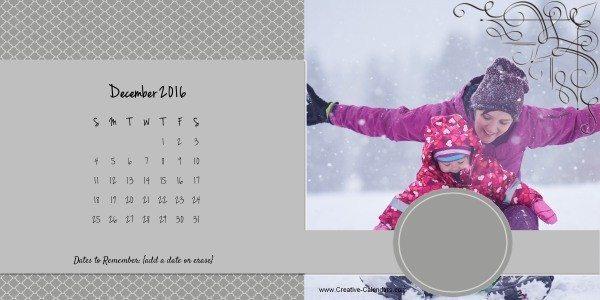 Free photo calendar maker