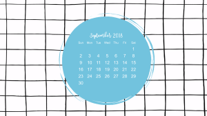 create calendar wallpaper