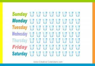 drink more water chart