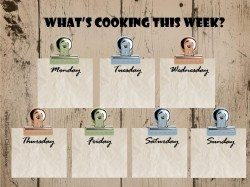 whats cooking this week