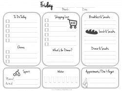 get organized calendar