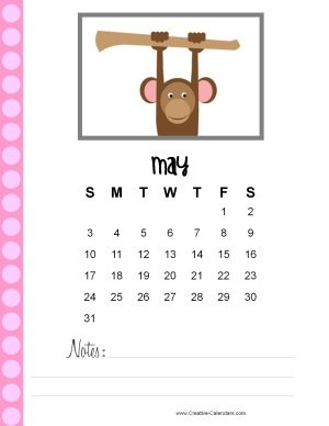 May 2015 planner